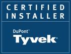 Brad Van Weelden Certified Tyvek Installer