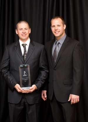 Brad VanWeelden Matt Montange BBB Integrity Award