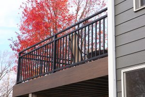 new deck and railing, deck and railing installation, deck builders in des moines, IA