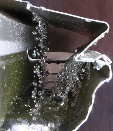 gutter installation, new gutters Des Moines, LeafX gutter guards, seamless gutters