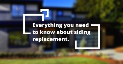 everything you need to know about siding replacement