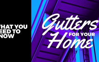 Gutters for home