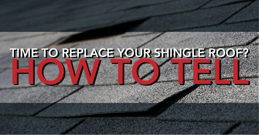 Time to Replace Your Shingle Roof? How to Tell