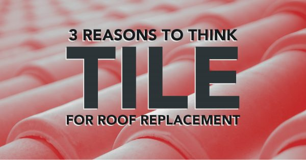 VanWeelden Roofing Contractors Install Tile Roof Replacements