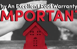 Why an Excellent roof warranty is important