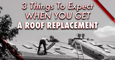 3 Things To Expect When You Get A Roof Replacement